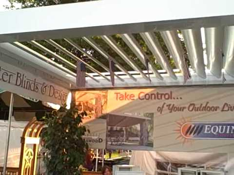 Equinox Louvered Roof Patio Cover Better Blinds And Design