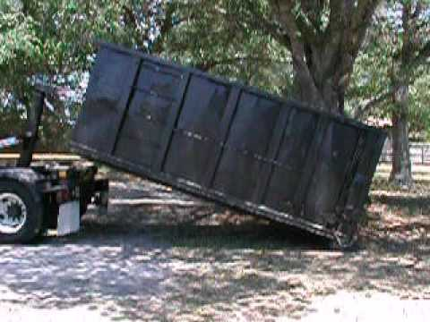 Sansone Hauling Roll Off Dumpster