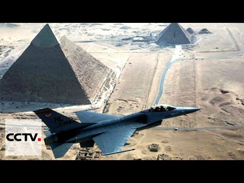 Egypt airstrikes kill IS group head and dozens of militants in Sinai