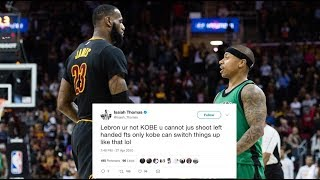 Isaiah Thomas Tweets Ripping New Teammate LeBron James Back in 2010