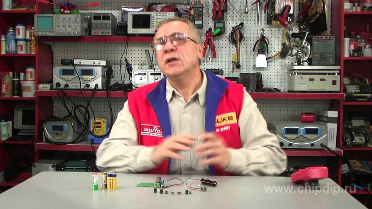 Неполярные электролитные конденсаторы - YouTube