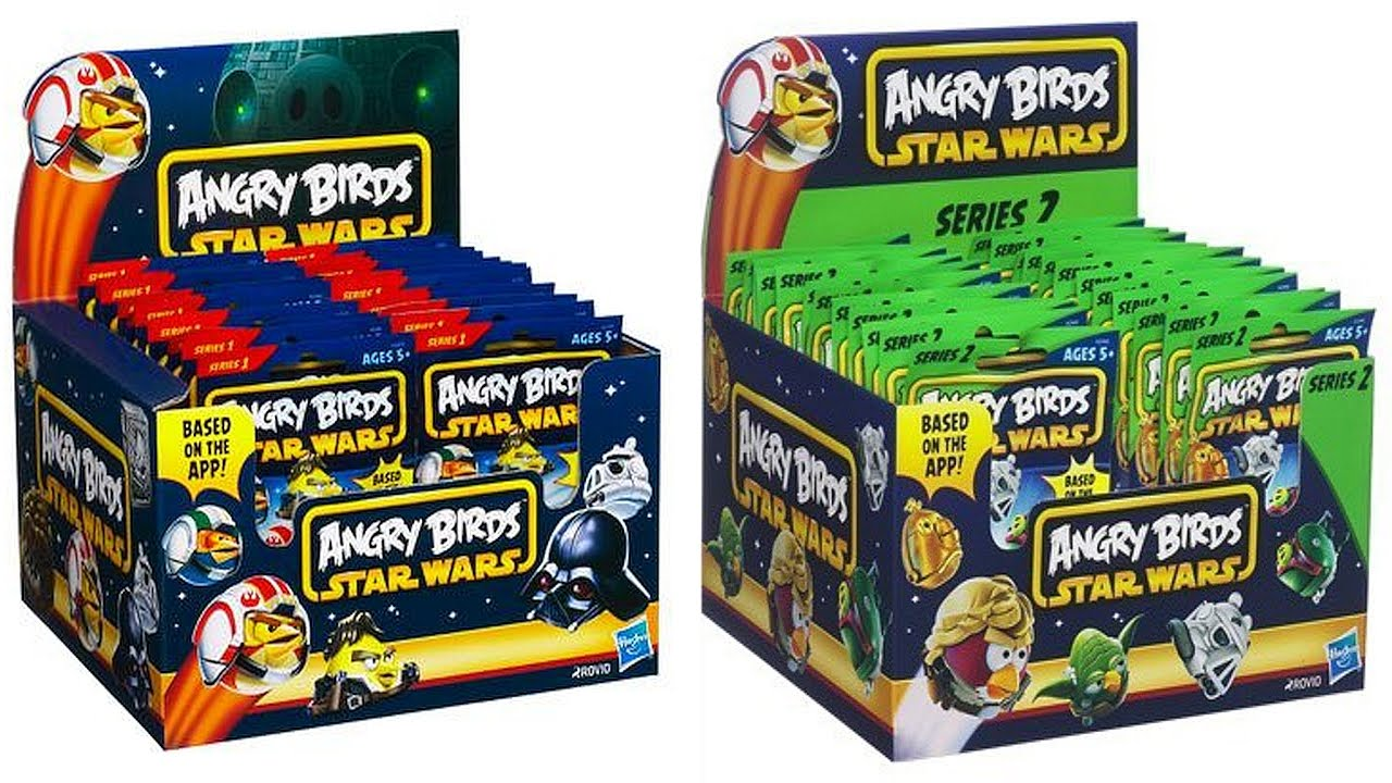 Angry Birds Star Wars Toys : Angry birds star wars games set to launch next month