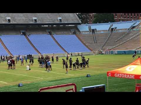 Larry Fedora UNC Football Camp 10 June 2018