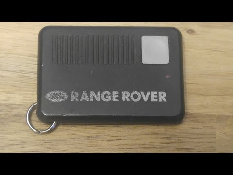 92-94 Land Range Rover Key Fob Battery Replacement – DIY