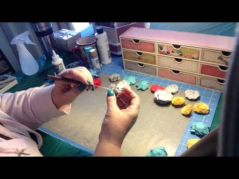 How to make Mulberry like flowers  February 26, 2015
