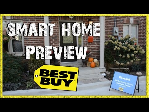 Best Buy Smart Home Preview | Home Security and Automation Products | Beef In The Streets