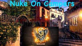 COD BO4 - Nuke on CAMPER's