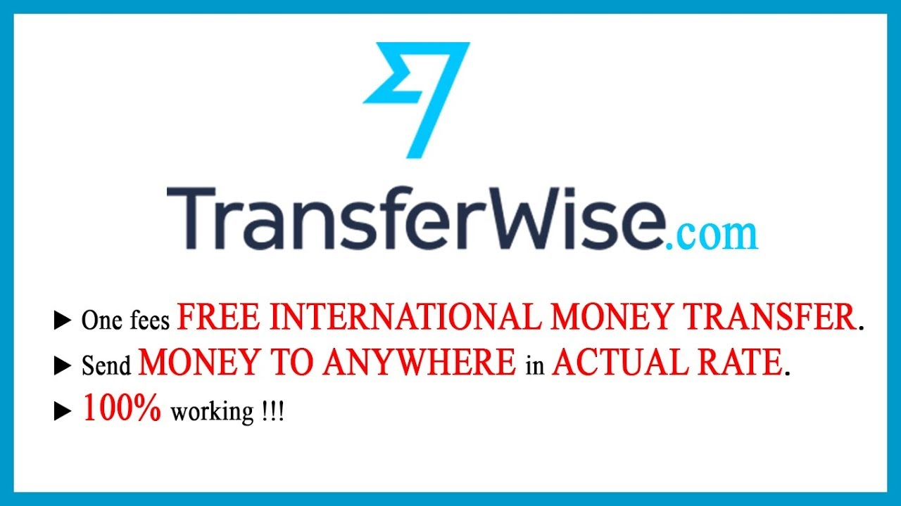 Est Way To Send Money Online Transferwise