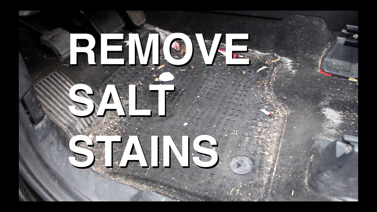 products to remove salt stains from carpet floor matttroy. Black Bedroom Furniture Sets. Home Design Ideas