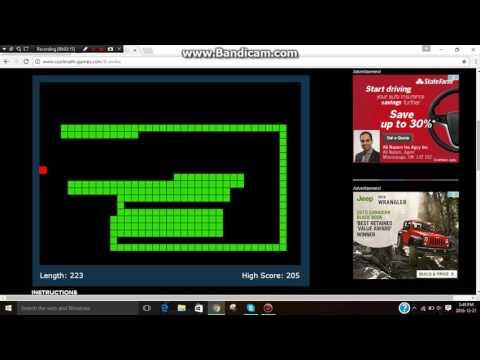 snake game cool math games