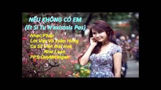 NeuKhongCoEm (Et Si Tu N'existais Pas) TranThaiHoa NhuLoan