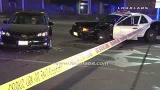Deputy Traffic Collision / South El Monte   RAW FOOTAGE