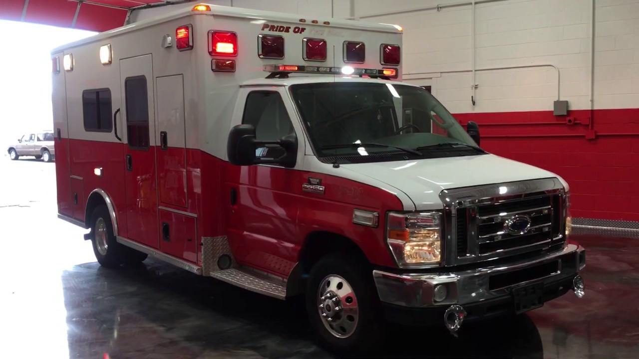 RTS 2008 E450 Wheeled Coach :Used Ambulance For Sale: