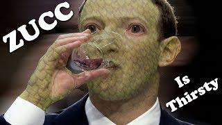 Every Single Time Mark Zuckerberg Takes a Sip of Water