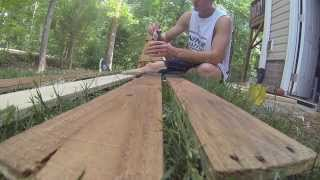 Building A Table Out Of Pallet Wood