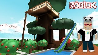 We're Building our dream tree house! - Roblox TreeHouse Tycoon with Panda