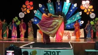 paithani fashion show 2 omm gudhi padwa celebration