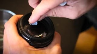 How to Fix a Scratch on a Camera Lens : Photography Tips