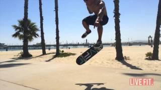 LVFT skate at the beach