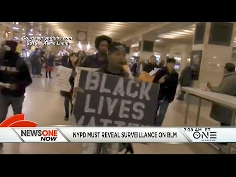 NYPD Ordered To Disclose Surveillance Of Black Lives Matter