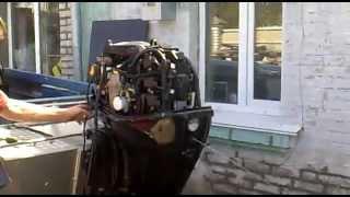 Первый запуск Mercury 50 EFI 2007