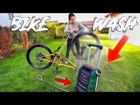 BIKE WASH l mobiler Outdoor Akku- Reiniger l Fahrrad waschen l MISS PEACHES