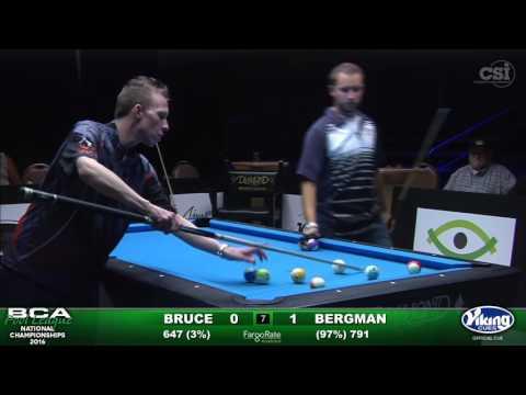 8-Ball Challenge - Bruce vs Bergman