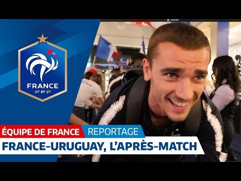 Equipe de France : France-Uruguay (2-0), l'après match des Bleus I FFF 2018