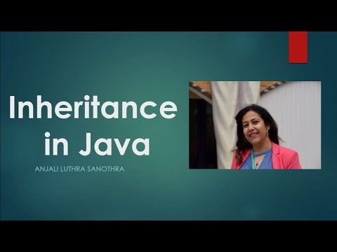 Inheritance In Java | Object Oriented Programming Concepts