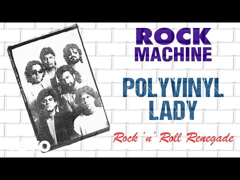 Polyvinyl Lady - Rock Machine | Rock 'n' Roll Renegade | Official Audio Song