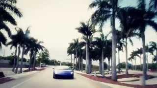 Lamborghini Gallardo Driving Fast Supercar