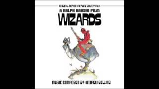 Wizards (1977) OST - 10. Fairy Drums/Jungle Drums/Gargoyle Once a Day