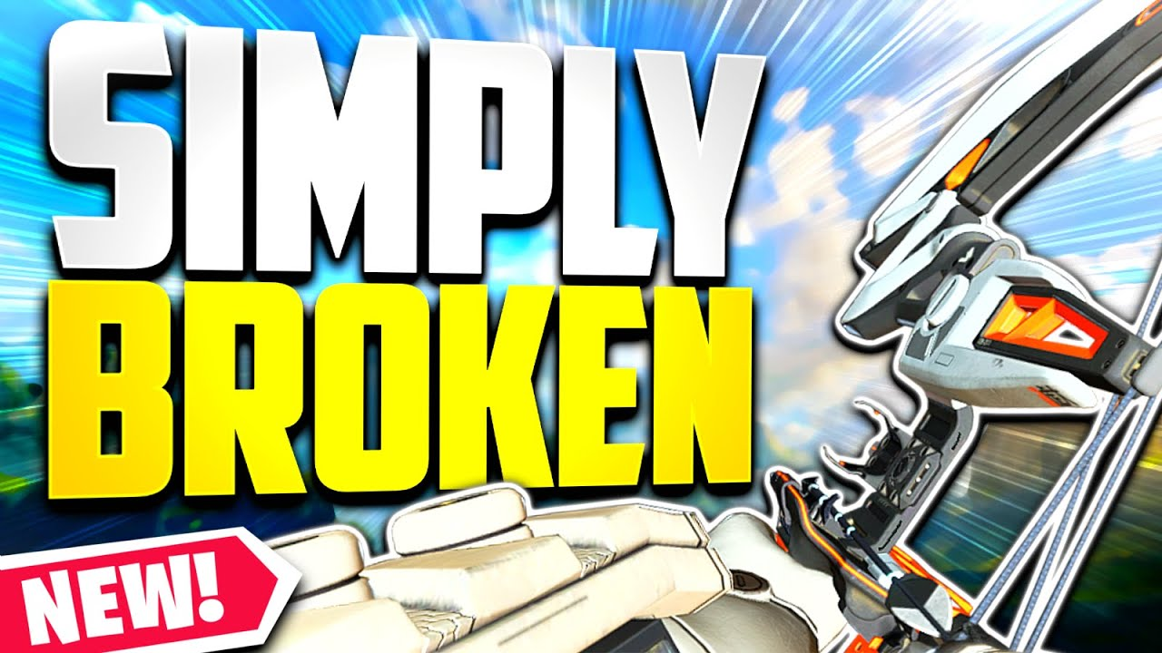 THIS is why the *NEW* Bocek Bow is BROKEN... - Apex Legends Season 9 Gameplay