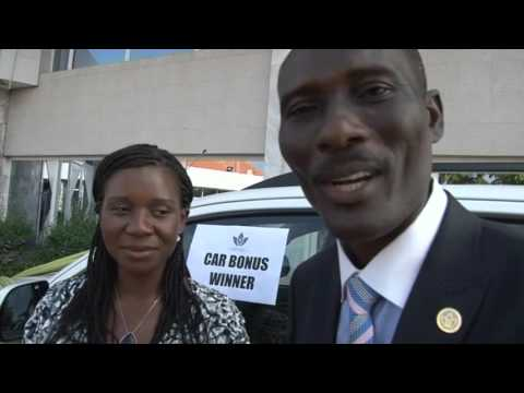 TREVO LLC GHANA FIRST CAR AWARD WINNER