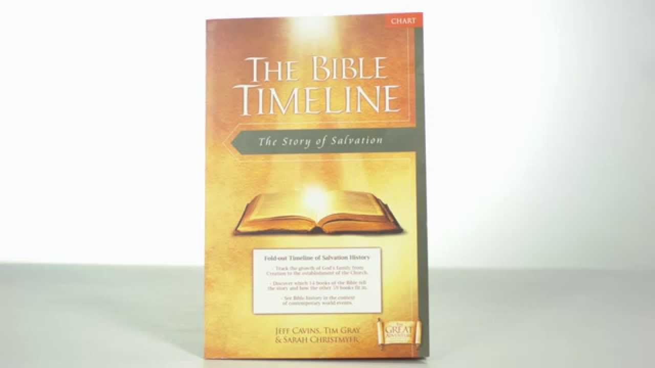 The Great Adventure Bible Timeline Chart | The Catholic Company