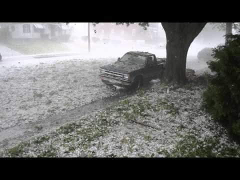 Thumbnail: Hail Storm Reading, Pa 5/22/14