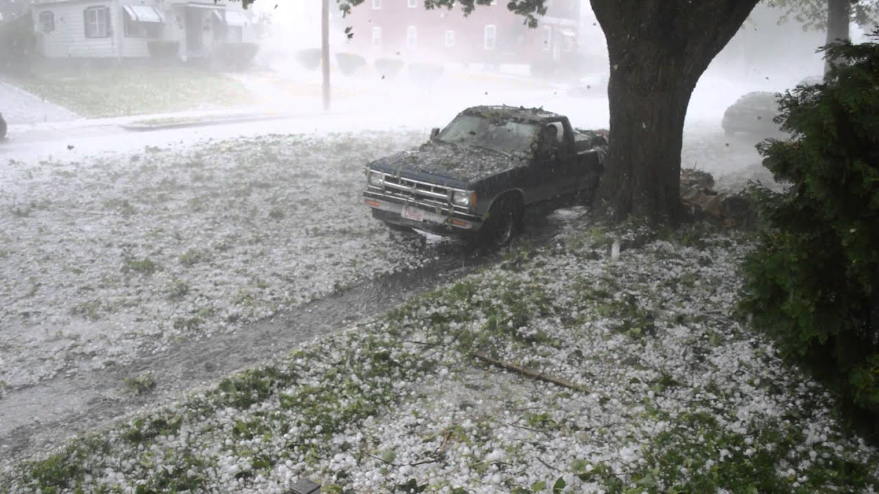 Why Is My Wallpaper Falling Off Hail Storm Reading Pa 5 22 14 Youtube