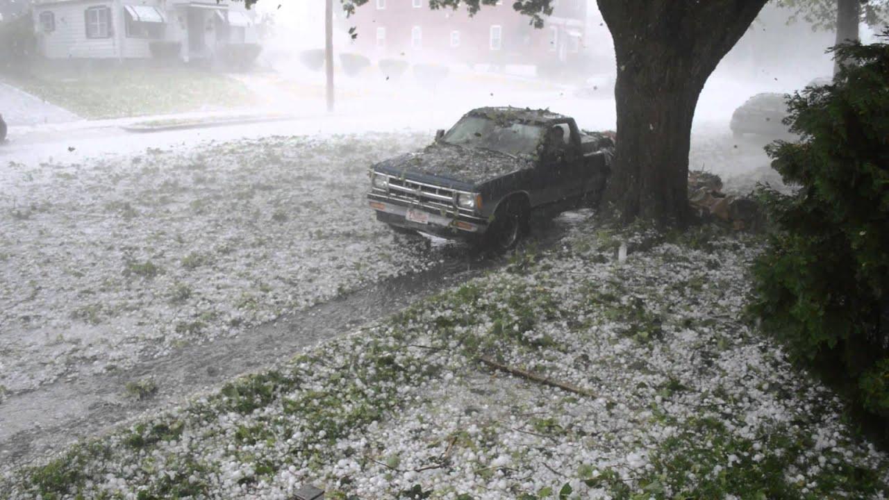Hail Storm Reading, Pa 5/22/14 - YouTube