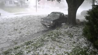 Hail Storm Reading, Pa 5/22/14