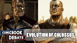 Evolution of Colossus in Movies & TV in 4 Minutes (2018)