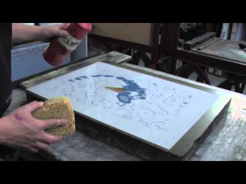 Plate Lithography at Edinburgh Printmakers