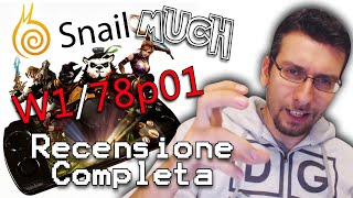 Snail MUCH W1 (78p01) - RECENSIONE COMPLETA