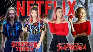 Dressing Like Netflix TV Show Characters... | Sophie Foster