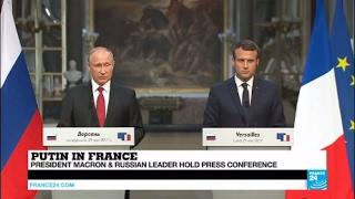 Putin in Versailles: