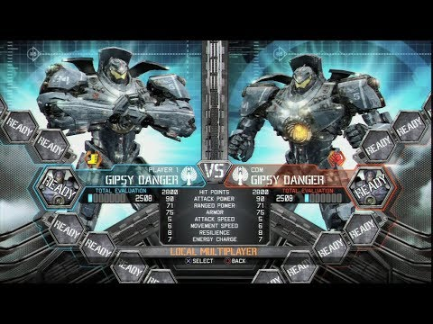 PACIFIC RIM:THE VIDEO GAME [XBOX360/PS3] - JAEGER Vs JAEGER