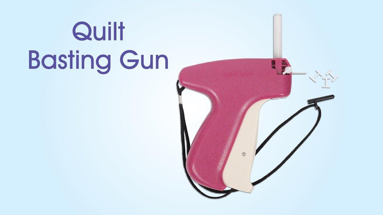 June Tailor Quilt Basting Gun - YouTube : quilt basting gun - Adamdwight.com