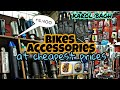 All type of bike accessories || silencers ; lights || karol bagh || best for modifications