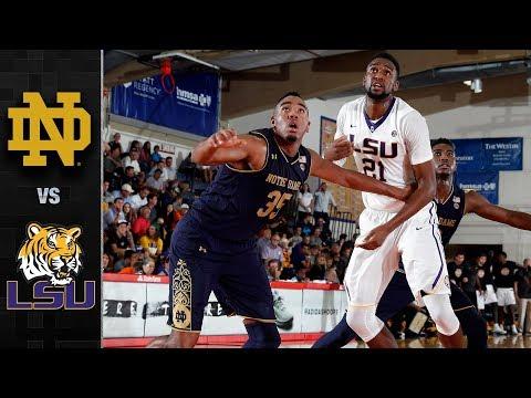 Notre Dame vs. LSU Basketball Highlights (2017)