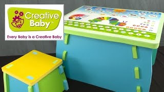 The Very Hungry Caterpillar Learning Table & Chair from Creative Baby Inc