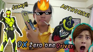 Kamenrider[Review] Dx hiden zero one driver